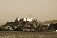 Alcatraz Gefängnis lizenzfreie stockbilder