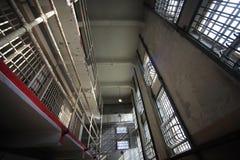 Alcatraz-Gefängnis-Haus-Block Stockfotografie