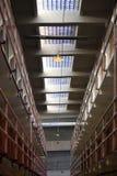 Alcatraz-Gefängnis-Haus-Block Stockbild