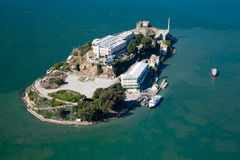 Alcatraz Gefängnis in San Francisco Lizenzfreie Stockfotografie