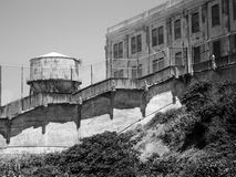 ALCATRAZ-GEFÄNGNIS, SAN FRANCISCO, US - JUNI 2005 Stockfotos