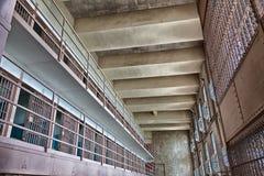 Alcatraz-Gefängnis-Zellblock D lizenzfreie stockfotos