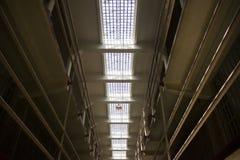Alcatraz-Gefängnis-Zellen Stockfotografie