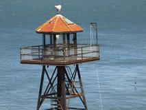 Alcatraz Guard Tower Royalty Free Stock Photos