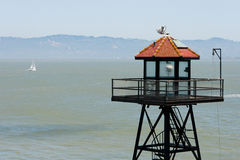Alcatraz Guard Tower Royalty Free Stock Photo