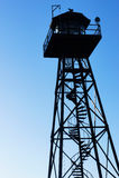 Alcatraz Guard Tower Stock Photos