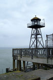 Alcatraz Guard Tower Royalty Free Stock Photos