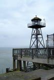 Alcatraz Guard Tower. Guard tower on Alcatraz Island in San Francisco Bay royalty free stock photos