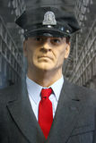 Alcatraz - Guard Uniform with Famous Red Tie Stock Photo