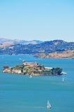 Alcatraz-Insel, San Francisco, Kalifornien, die Vereinigten Staaten von Amerika, USA Stockfotografie