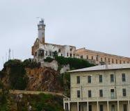 Alcatraz island. In San Francisco, California Stock Photo