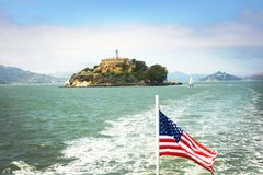Alcatraz island Stock Photos