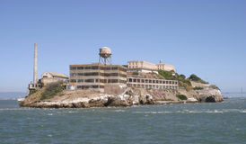 Alcatraz Island. Touring Alcatraz Island, June 2003 stock image