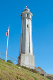 Alcatraz Island Lighthouse Stock Image