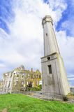 Alcatraz island Lighthouse, San Francisco, California Stock Photos