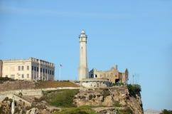 Alcatraz island near San Francisco Stock Photography