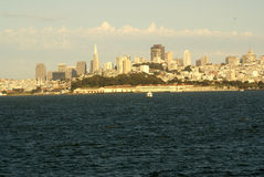 Alcatraz Island, offshore San Francisco Bay, California Stock Photography
