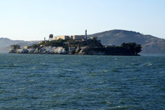 Alcatraz Island, offshore San Francisco Bay, California Stock Photo