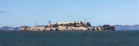 Alcatraz island Royalty Free Stock Photography