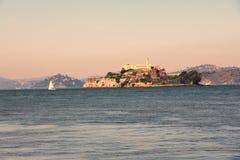 Alcatraz island penitentiary royalty free stock image