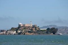 Alcatraz Island and Prison. From Fisherman's Wharf. San Francisco, CA Royalty Free Stock Image