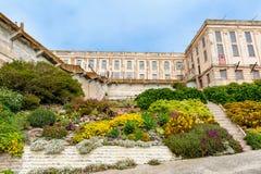 Alcatraz Island Prisoner Gardens in San Francisco Stock Images