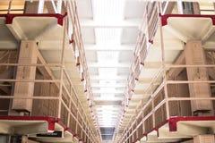 Alcatraz Island's cellblock Stock Photography
