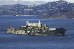 Alcatraz Island in San Francisco Royalty Free Stock Photography