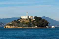 Alcatraz Island in San Francisco Stock Photo