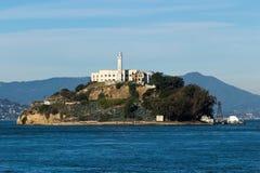 Alcatraz Island in San Francisco. USA Stock Photo