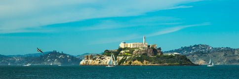 Alcatraz island in San Francisco Royalty Free Stock Photography