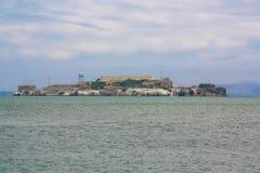 Alcatraz Island, San Francisco Bay. San Francisco Stock Photos