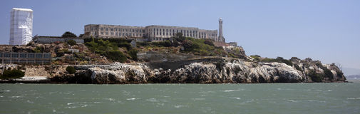Alcatraz Island, San Francisco Bay Royalty Free Stock Photography