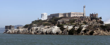 Alcatraz Island, San Francisco Bay Stock Photos