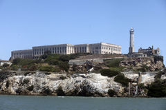 Alcatraz Island, San Francisco Bay Stock Photo