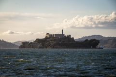 Alcatraz island in San Francisco Stock Photos