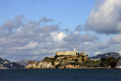 Alcatraz island in San Francisco Stock Image