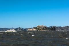 Alcatraz Island, San Francisco Bay Royalty Free Stock Photo