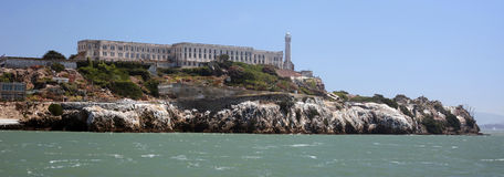 Alcatraz Island, San Francisco Bay Stock Images