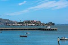 Alcatraz Island, San Francisco Bay Stock Photos