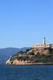 Alcatraz Island in San Francisco California Royalty Free Stock Image