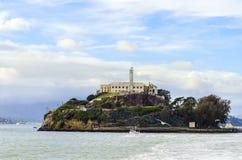 Alcatraz island, San Francisco, California Royalty Free Stock Image