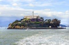 Alcatraz island, San Francisco, California Royalty Free Stock Photo
