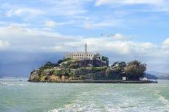 Alcatraz island, San Francisco, California Royalty Free Stock Images