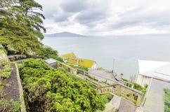 Alcatraz island, San Francisco, California stock photos