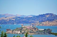 Alcatraz Island, San Francisco, California, United States of America, Usa. Alcatraz island in the San Francisco Bay on 7 June 2010. The island was developed with Royalty Free Stock Photography