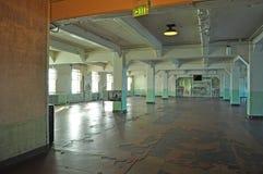 Alcatraz Island, prison, dining hall, interior, San Francisco, California, United States of America, Usa Royalty Free Stock Photo