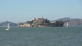 Alcatraz island, San Francisco stock video footage