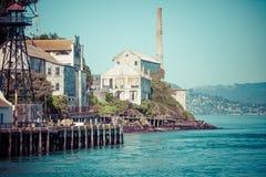 Alcatraz Island in San Francisco, USA Stock Images