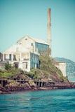 Alcatraz Island in San Francisco, USA Stock Photos